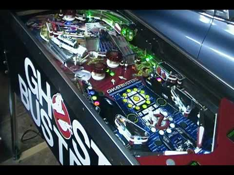 GHOSTBUSTERS Custom Pinball Machine!