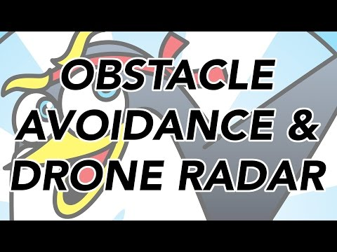 Drone Obstacle Avoidance and Radar - The Drone Trainer