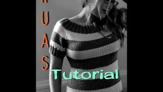 kuas tutorial knitting cables without cable needles 2 st cables rpc tbl lpc tbl