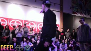 DEEP v.1 Open Styles battle 2 | Scion: The Slate (Chris Brown feat. Tyga - Holla At Me Dance Battle)