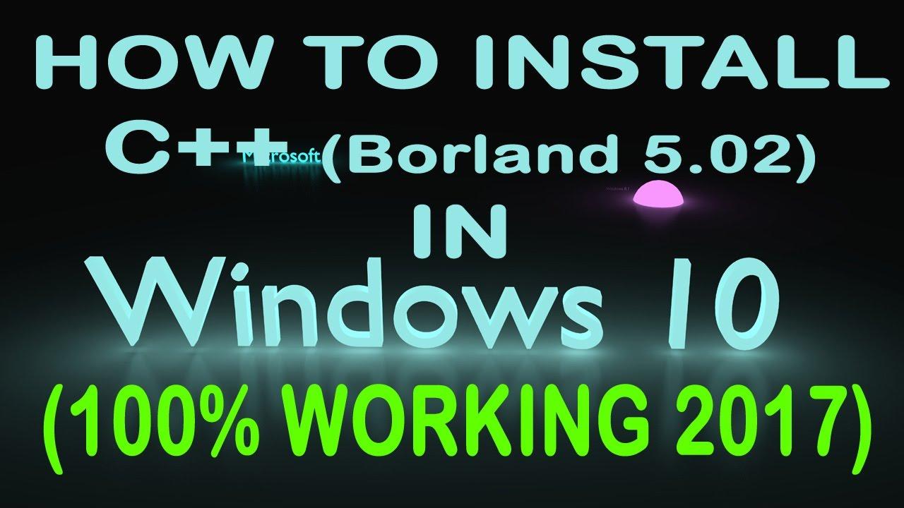 download borland database engine windows 10 64 bit