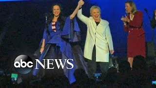 Hillary Clinton Campaigns with Beyonce, Jay-z & Katy Perry