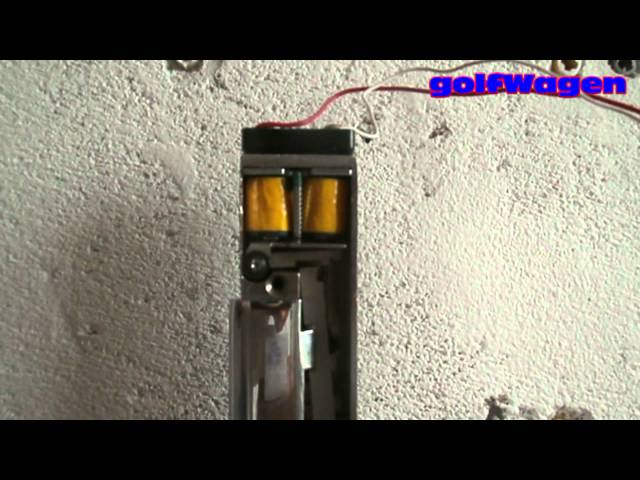 Hack electric lock access system
