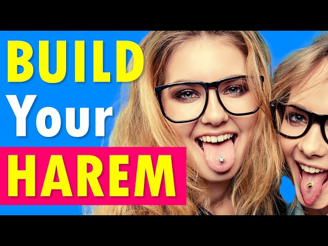 How to Get a Harem of 3 Girls in Bed Together with You- CONTROVERSIAL!!!
