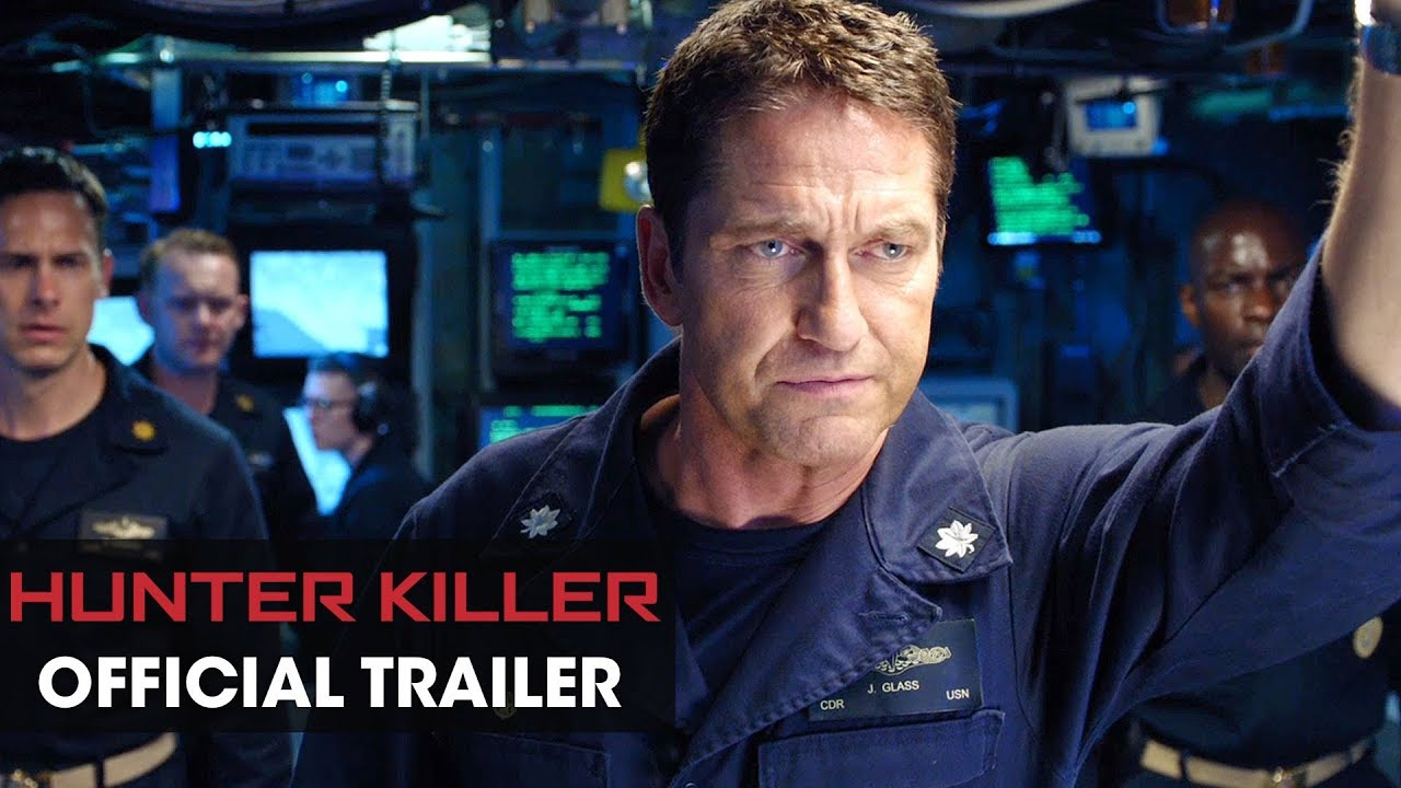 hunter killer trailer deutsch