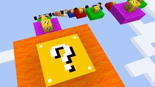 Minecraft THE LUCKY BLOCK DROPPER! #1 (Minecraft Mods) - w/PrestonPlayz & Friends