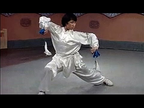 Wushu twin chain whips basic moves