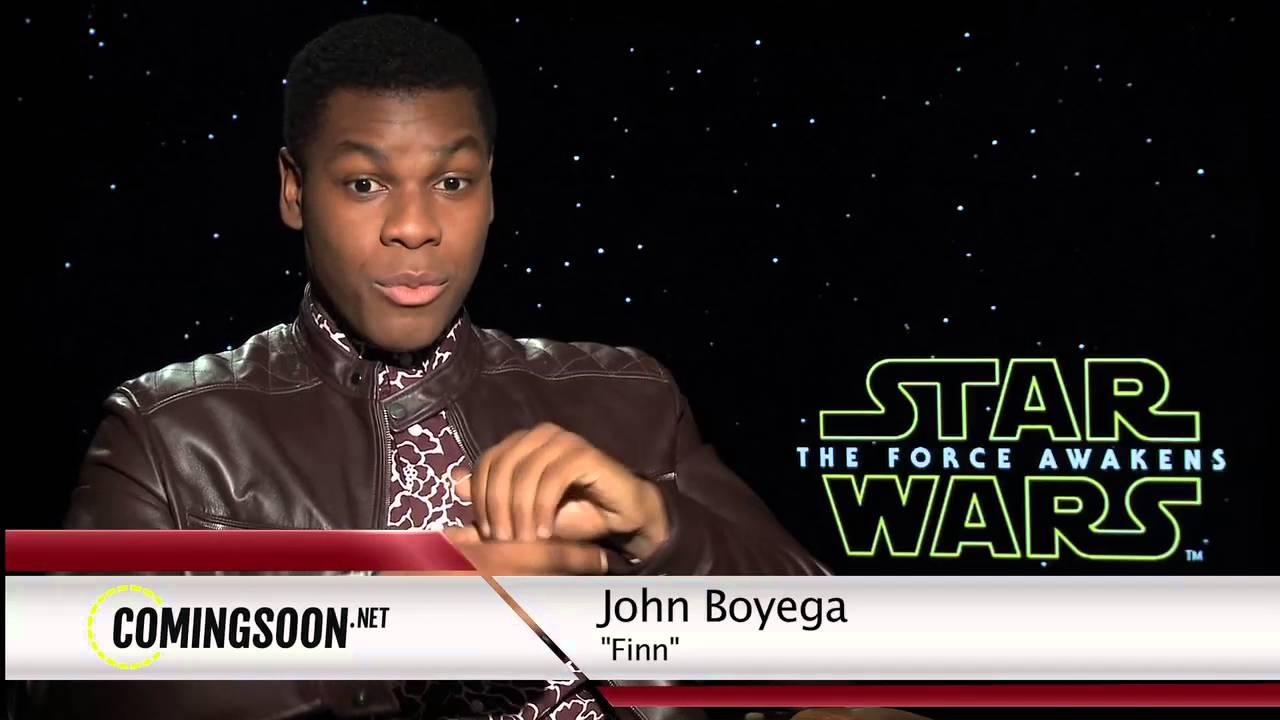 Star Wars: The Force Awakens Cast Interviews