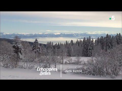 Magie blanche dans le Jura suisse - Échappées belles