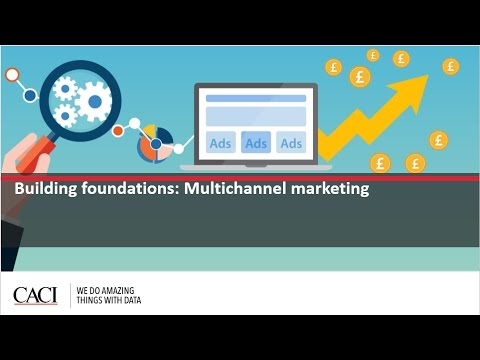 Webinar: How to build foundations for multi-channel marketing