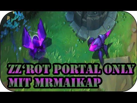Zz'Rot Portal only mit MrMaikap | Gameplay #109 - YouTube