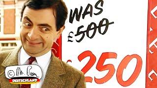 Verkaufstag mit Mr. Bean!