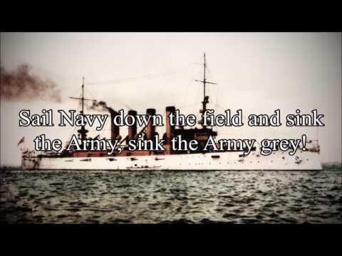 Anchors Aweigh (1906 Lyrics) Song of the US Navy