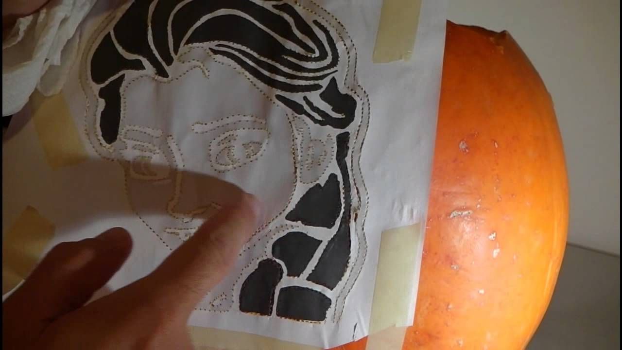Kürbis Schnitzen Vorlage Disney How To Carve A Disney Frozen Elsa Pumpkin For Halloween