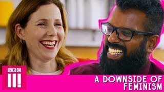 A Downside Of Feminism | Romesh Talks to Sally Phillips About Her Early Acting Career