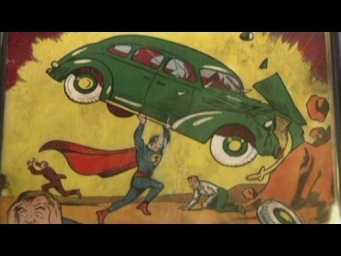 Ripped Superman comic from 1938 fetches $175,000