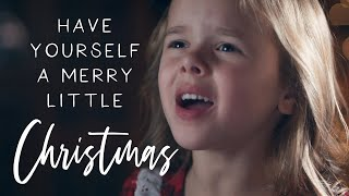 Have Yourself A Merry Little Christmas - Claire Crosby (Piano by Mom Ashley Crosby)