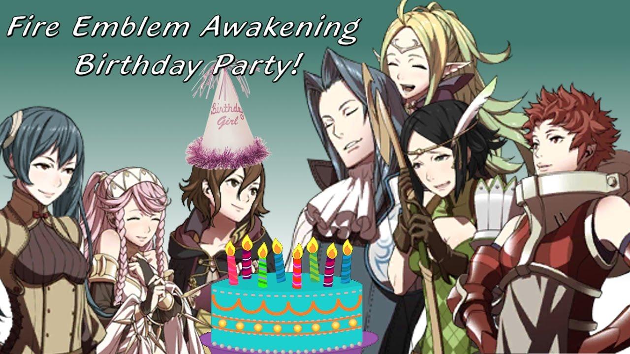 I Celebrate A Fire Emblem Awakening Birthday Party