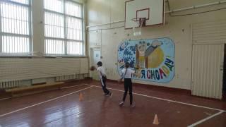 Урок физкультуры в 3-ем классе. Учитель Горбань М. В.