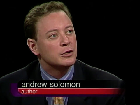 Andrew Solomon interview on Charlie Rose (2001)