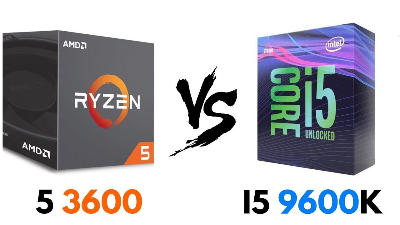 Ryzen 5 3600 vs i5 9600K | Test in GAMES & Benchmarks | i5 9600K vs Ryzen 5  3600