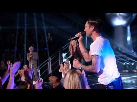 The Voice - Season 6: Special Performance Of Coaches Shakira, Blake Shelton, Adam Levine & Usher