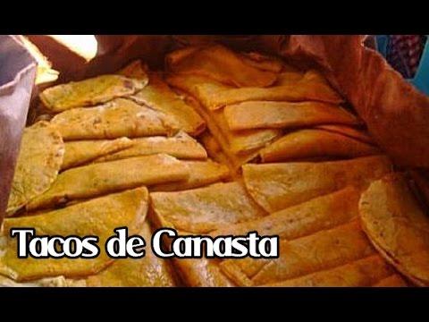 TACOS DE CANASTA | TACOS SUDADOS: TACOS AL VAPOR
