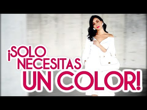 Increíbles looks de un SOLO COLOR  / Dress Code