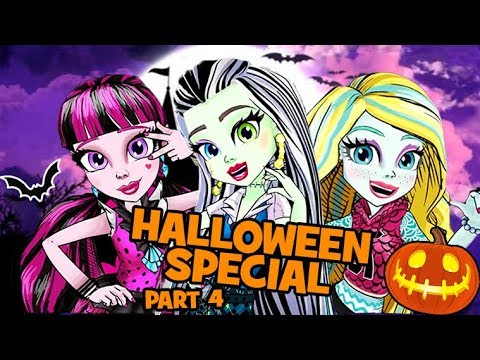 Monster High 💚🎃HALLOWEEN SPECIAL 💚🎃Ghoul Squad 💚🎃Full Episode Compilation! | Part 4