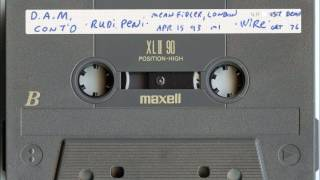 Rudimentary Peni - Live At The Mean Fiddler, London 4/15/1993