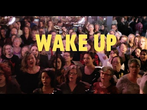 Choir! sings Arcade Fire - Wake Up