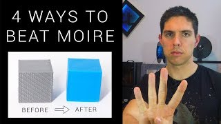 Four ways to beat moire on your 3D printer