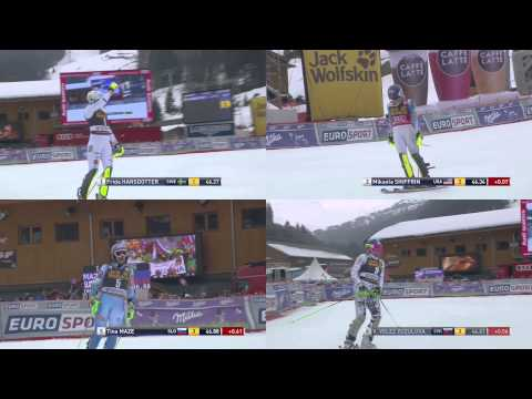 Slalom, Ladies, Méribel (21-03-2015)