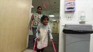 5-Year-Old Girl With Cerebral Palsy Has Life-Changing Surgery to Walk on Her Own