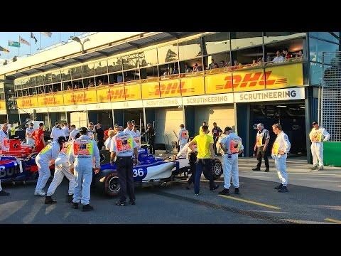 ONE DAY IN MELBOURNE | Formula 1 Grand Prix 2017