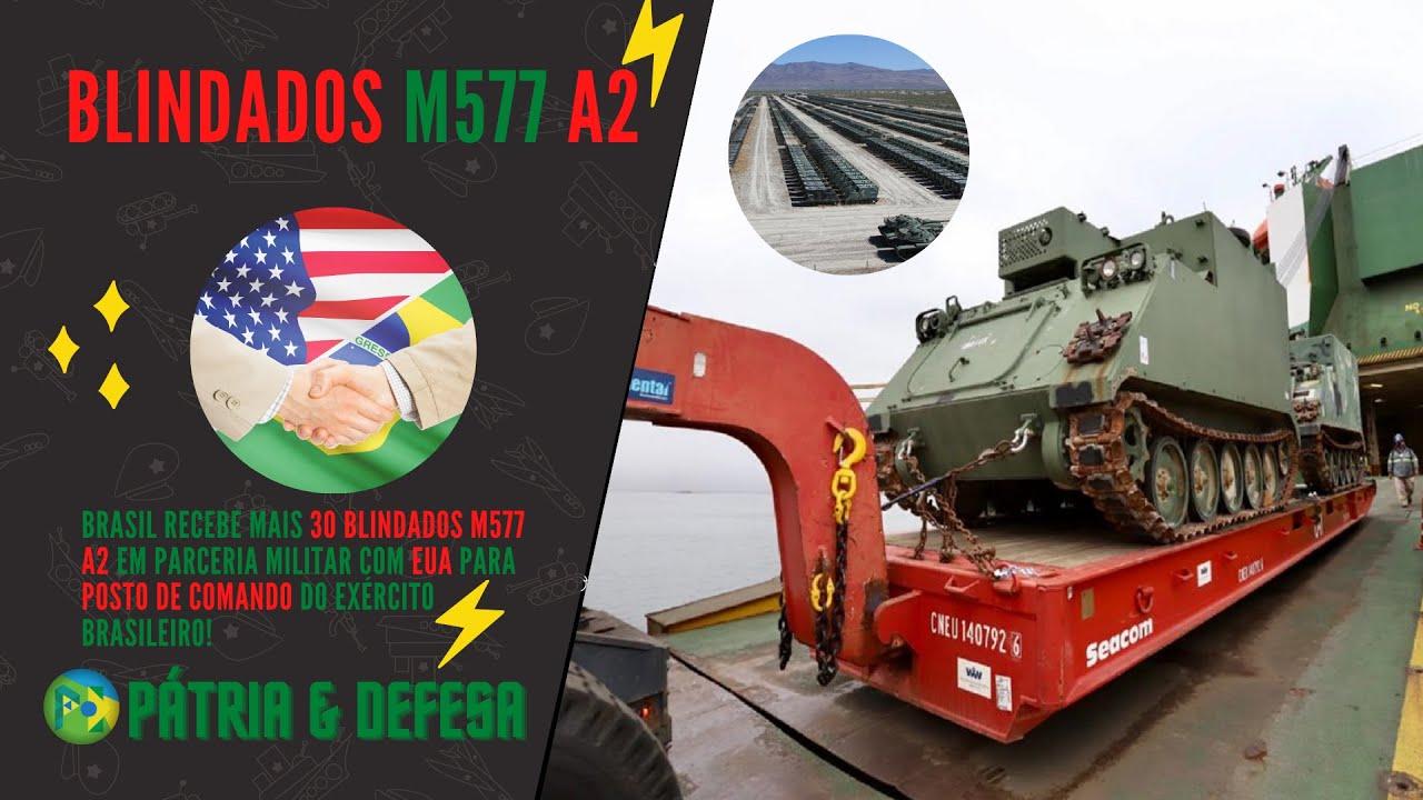 Chegaram: Parceria Militar Brasil x Estados Unidos Garantem Mais 30 Blindados Para o Nosso Exército.