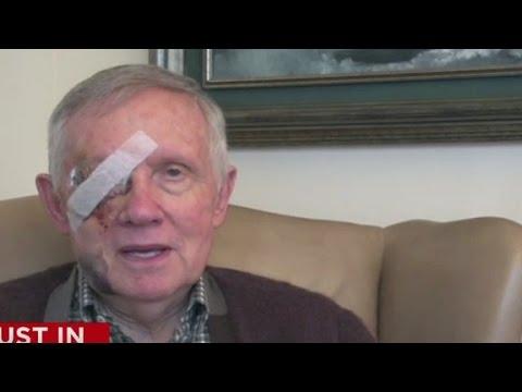 Sen. Harry Reid tweets video explanation behind injury