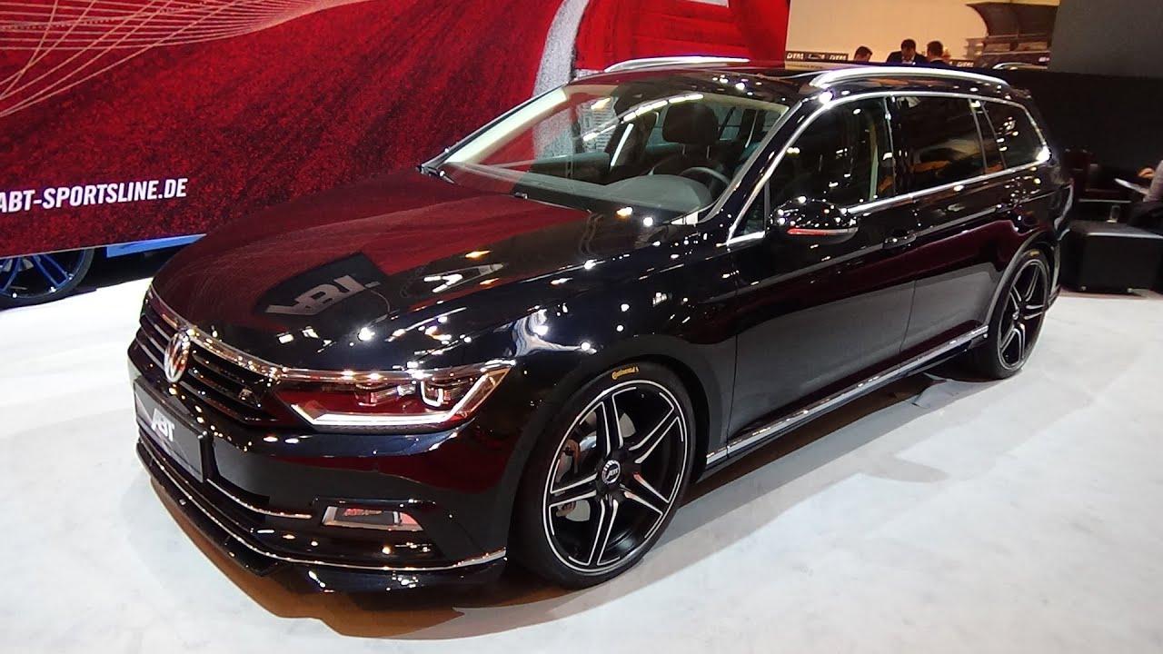 2016 Volkswagen Abt Passat Essen Motor Show 2015 Youtube