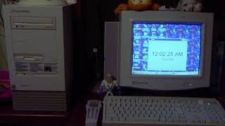 Happy New Year 2019 from the Packard Bell Legend 822CDT!!!