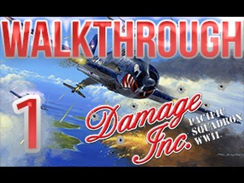 Damage Inc Pacific Squadron Wwii Walkthrough Part 1