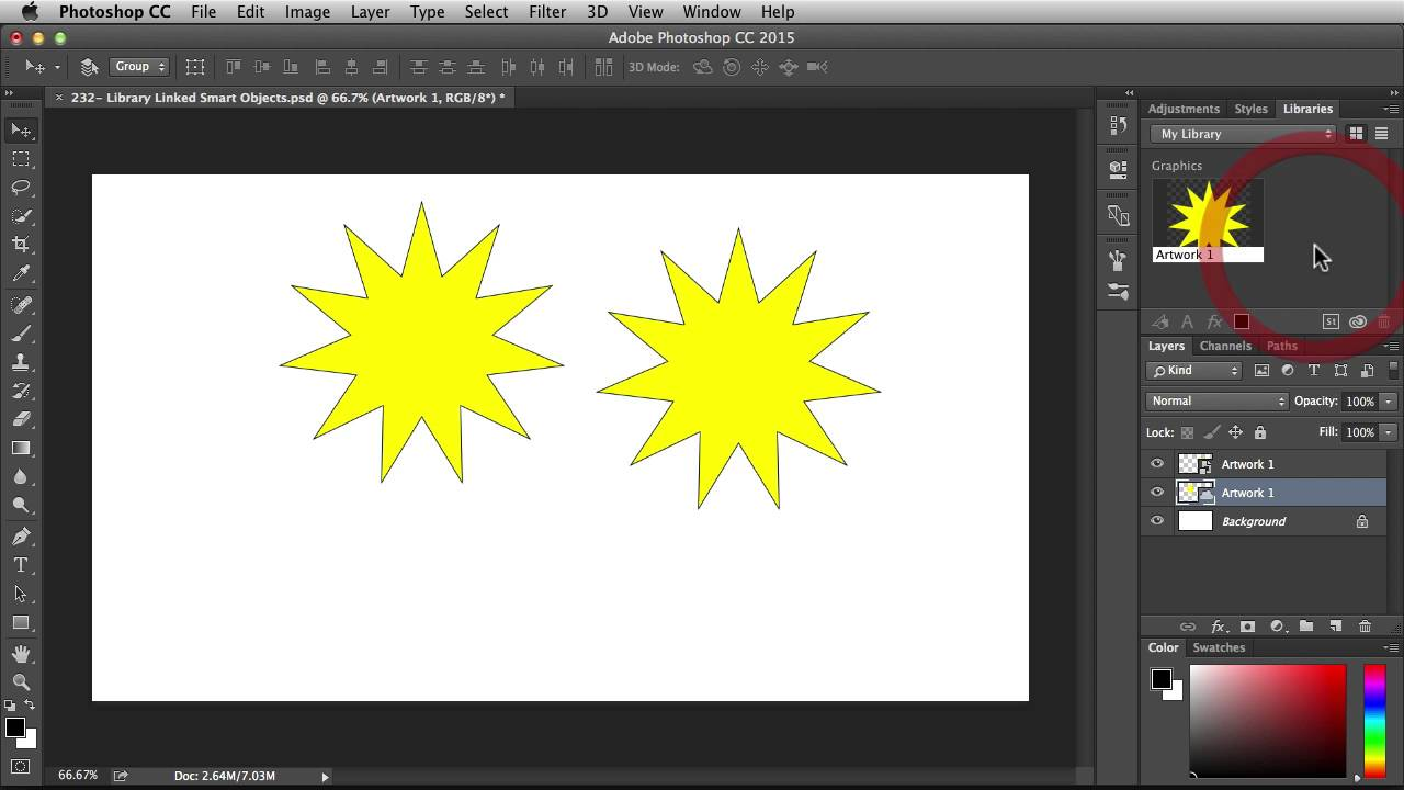 Work Smarter and Faster in Photoshop with Linked Smart Objects