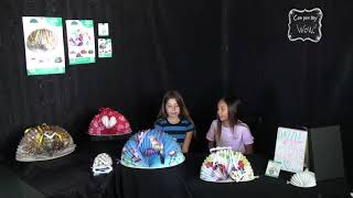 DazzleWrap - Dazzle Girls - How to wrap your gift with DazzleWrap part 2