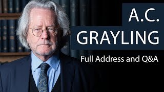 A.C. Grayling | Full Address and Q&A | Oxford Union