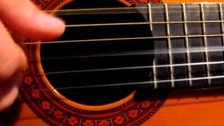 Бетховен   Лунная соната как играть на гитаре