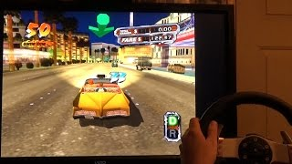 Crazy Taxi 3 (PC Port) with 270 Degree Wheel