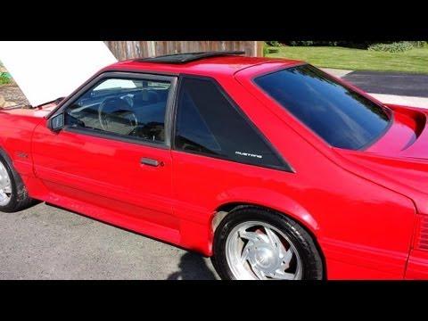 1989 Mustang Hp Rating