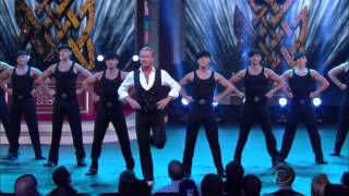 Michael Flatley on The Late Show with Stephen Colbert