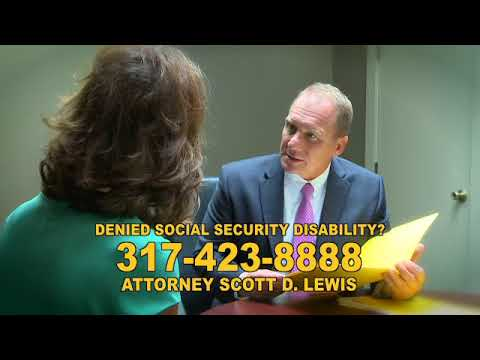 Scott D. Lewis - Indianapolis Social Security & Disability Claims Lawyer