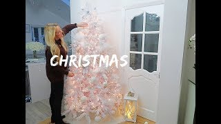 How To Decorate a White Christmas Tree / Decorate With Me