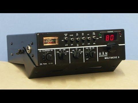 HAM International MULTIMODE 3 CB and HAM radio